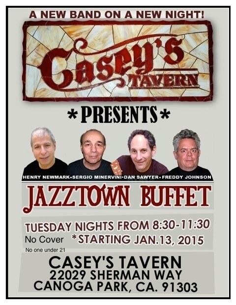Casey's Jazztown Buffet flyer